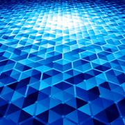 Abstract vector background with hexagons - stock illustration