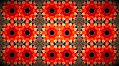 Fractal kaleidoscopic background Stock Footage