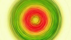 Rotating Concentric Circles Target Stock Footage