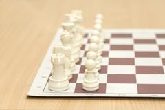 chessmen - stock photo
