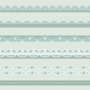 Stock Illustration of vintage borders