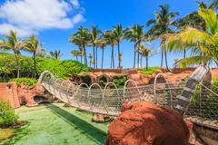 atlantis in bahamas - stock photo