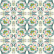 Damask pattern Stock Illustration