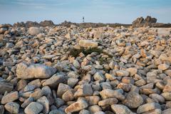 Stock Photo of sharp rocky coastline