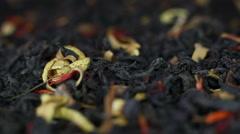 Rotation Fruit Tea 3 Stock Footage