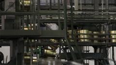 Aluminium  Cans Machine  Moving Stock Footage