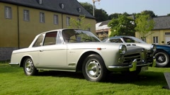 Stock Video Footage of Alfa Romeo 2000 S Coupe Vignale