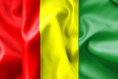 Stock Illustration of guinea flag