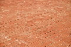 traditional brick road background texture - stock photo