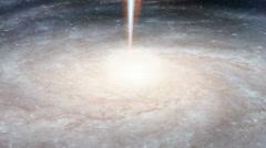 Seamless Loop Black Hole Fixed - stock footage