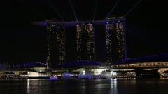 Marina Bay Sands Stock Footage