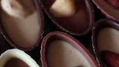 Rotating Chocolates Stock Footage