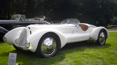 Alfa Romeo 6C 1750 Spider Stock Footage