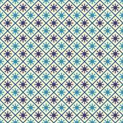 seamless pattern with snowflakes, for invitations, cards, scrapbooking - stock illustration