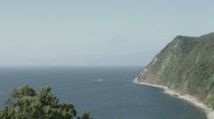 Numadu seaside, non color graded 4K (3840x2160) Stock Footage