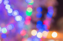 Out of focus lights for background Stock Photos