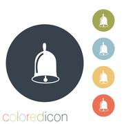 Stock Illustration of bell. first call. a symbol of the school. beginning of the school