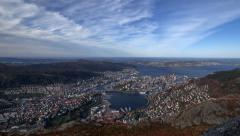 Bergen Norway Stock Footage