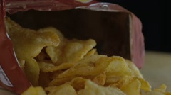 Potato Chips - stock footage