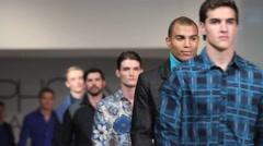 2013 phoenix fashion week runway shows - stock footage