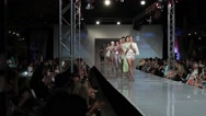 Stock Video Footage of 2013 phoenix fashion week runway shows
