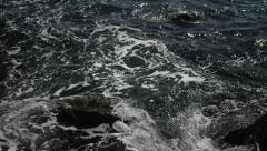 Sea waves rocks uhd 4k / море волны камни Stock Footage