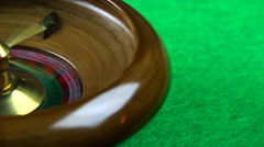 Roulette loop Stock Footage