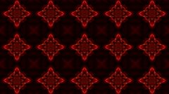 Kaleidoscope. Transformation of brightly colored shapes on a black background. - stock footage