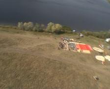 Landing near the Volga river Stock Footage