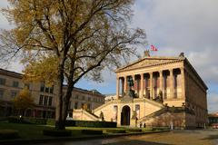 alte nationalgalerie, berlin - stock photo