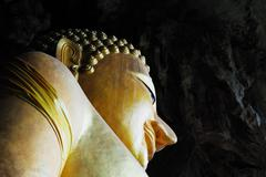 gautama is the primary figure in buddhism, and accounts of his life. - stock photo