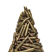 Rifle bullets peak Stock Illustration