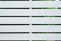 white fence, wood texture background - stock photo
