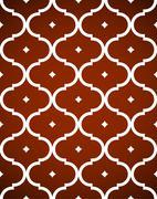 geometric seamless pattern - stock illustration