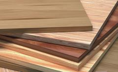Stock Illustration of cpd with the texture of the tree. laminate boards dark and light.