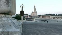 4K - The Fatima Sanctuary, Portugal Stock Footage