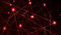 vector laser light - stock illustration