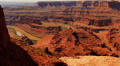Dead Horse Point 08 Tilt Up Colorado River Utah USA Footage