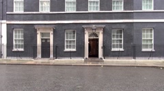 Downing St  London Stock Footage