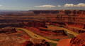 Dead Horse Point 10 Zoom In Colorado River Utah USA Footage