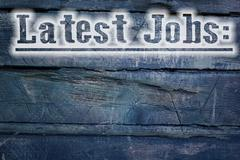 latest jobs concept - stock illustration