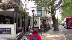 The Swan  London pub Stock Footage
