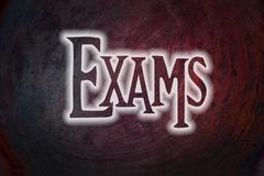 Exams concept Stock Illustration