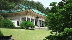 Chungnyeolsa Sacred Shrine Busan South Korea 01 4K Stock Footage