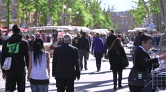 MARKET, AIX EN PROVENCE, FRANCE Stock Footage