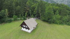 House in the midlle of nowhere Stock Footage