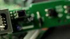 Electronic symbol display Stock Footage