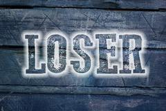 Loser concept Stock Illustration