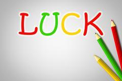 luck concept - stock illustration