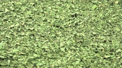Dried lovage background footage (loopable) Stock Footage